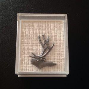 Jewelry - Vintage Finnish reindeer pin or tie tac